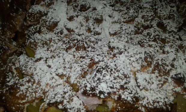 Kruche rabarbarowo - brzoskwiniowe