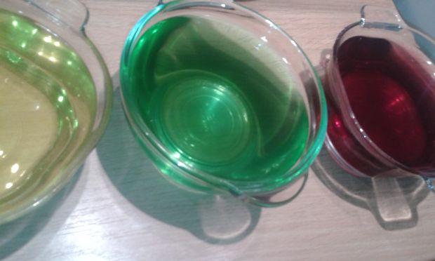 Kryształowe pucharki
