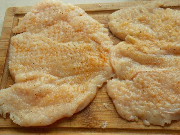 Kukurydziane roladki z kurczaka