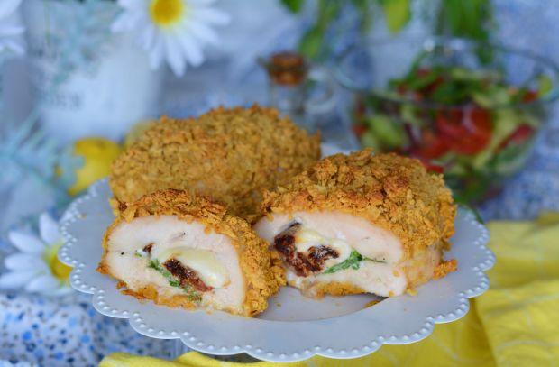 Kurczak faszerowany włoskimi smakami