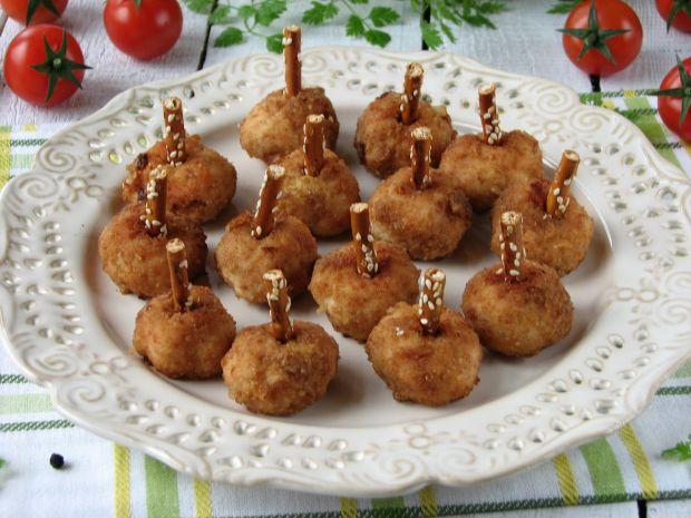 Kuleczki z kurczaka panierowane w paluszkach