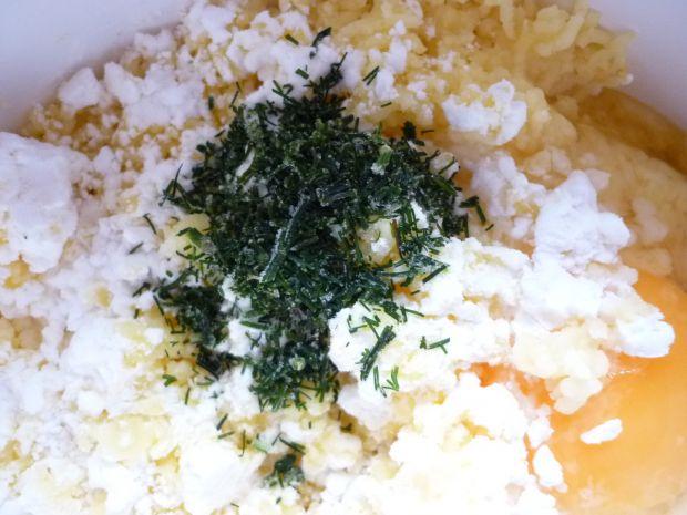 Kuleczki ziemniaczane z mazzarellą