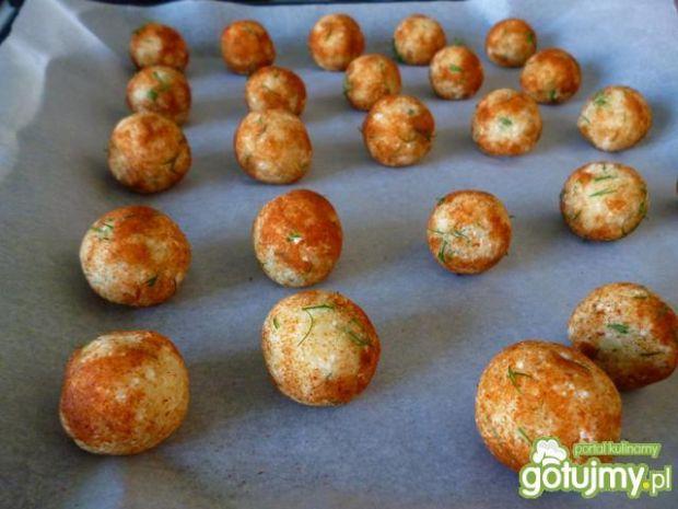 Kuleczki ziemniaczano-twarogowe