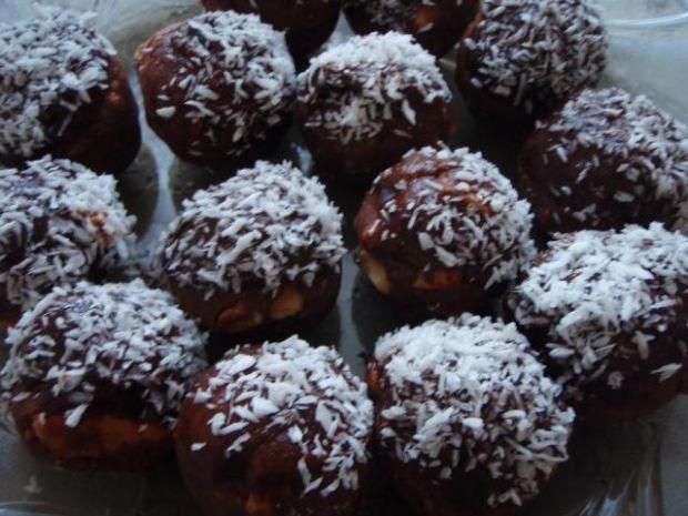 Kulki czekoladowe z herbatnikami