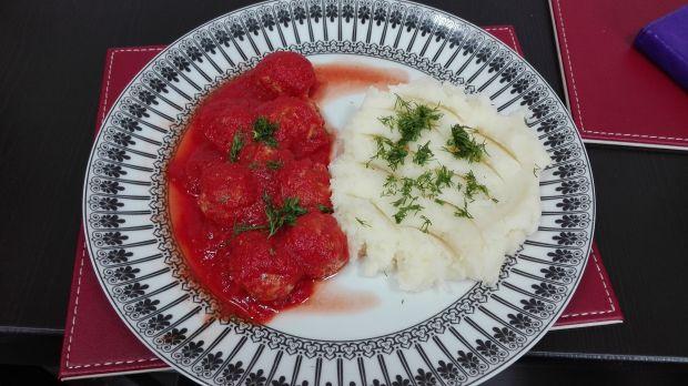 Kulki mięsne z serem pleśniowym