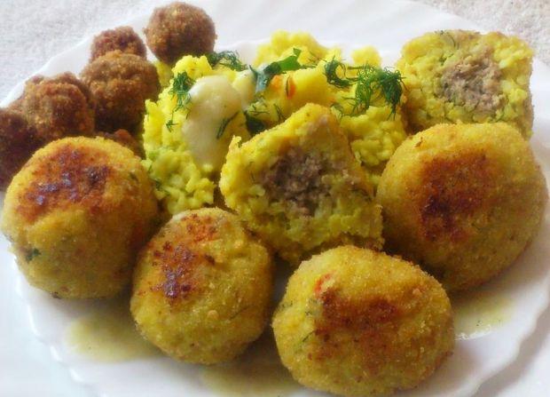 Kulki ryżowe z mięsem mielonym wg Di