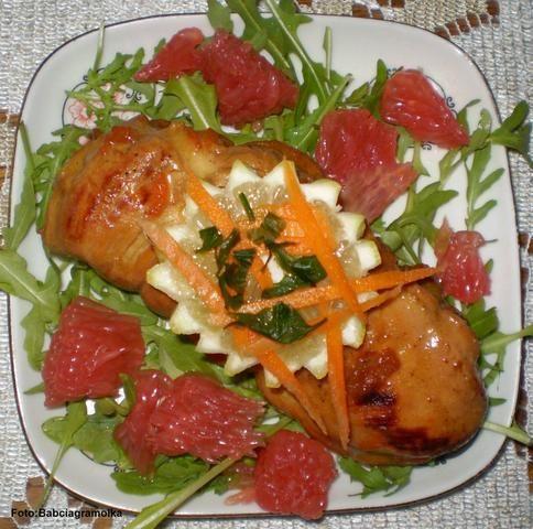 Kurczak cytrusowy :