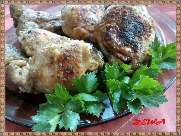 Kurczak duszony borowikowo ziołowy