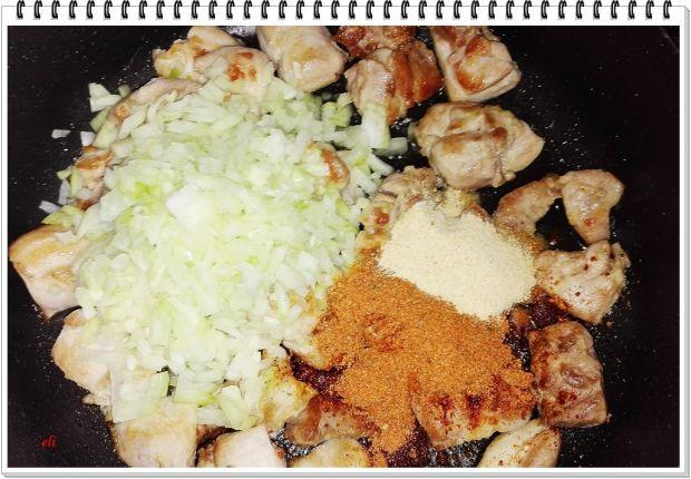 Kurczak Eli z warzywami