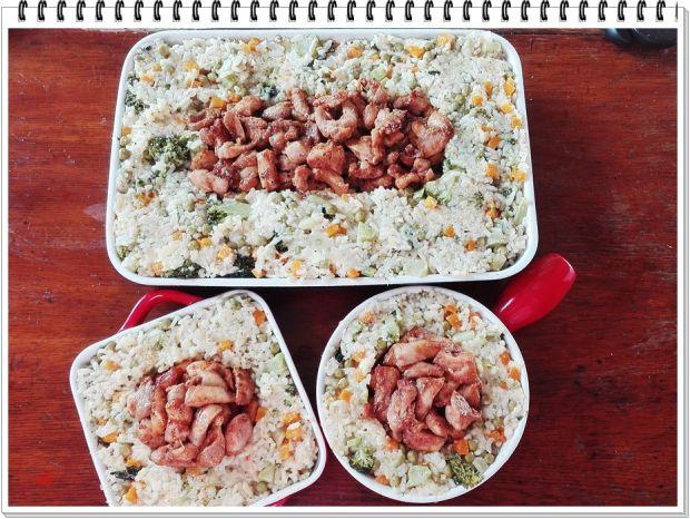 Kurczak Eli zapiekany z ryżem i warzywami