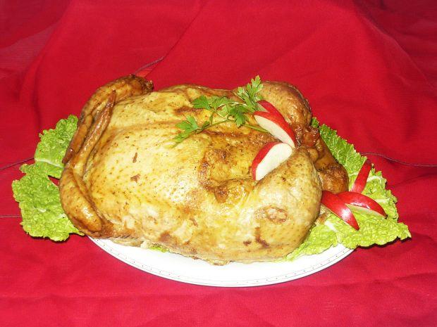 Kurczak faszerowany mięsem mielonym