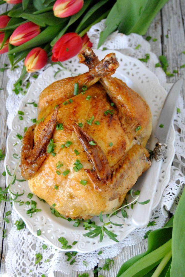 Kurczak faszerowany wątróbką