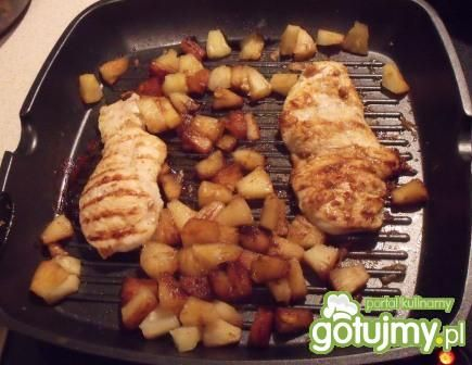 Kurczak grillowany z ananasem