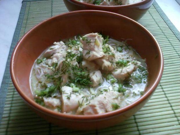 Kurczak i zielone curry