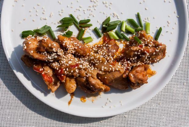 Kurczak lekko azjatycki