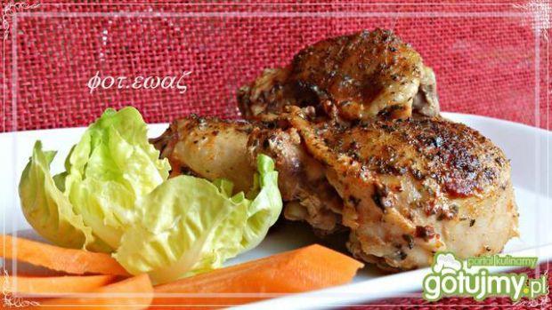 Kurczak majerankowo lubczykowy