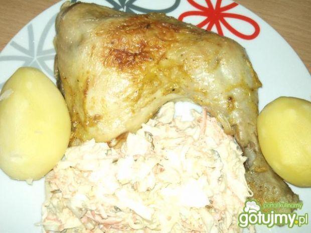 Kurczak marynowany w jogurcie i curry