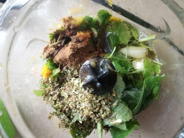 Kurczak Mojo z warzywami
