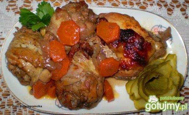 Kurczak na dziko z garnka rzymskiego