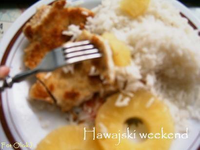 Kurczak na Hawajach