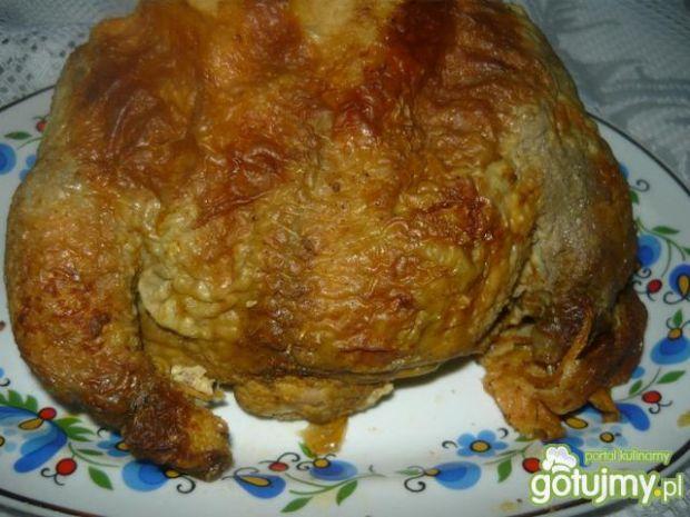 Kurczak nadziany wątróbką