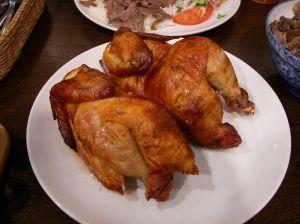 Kurczak nadziewany orzechami