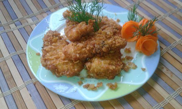 Przepis Filet Z Kurczaka W Platkach Kukurydzianych Przepis
