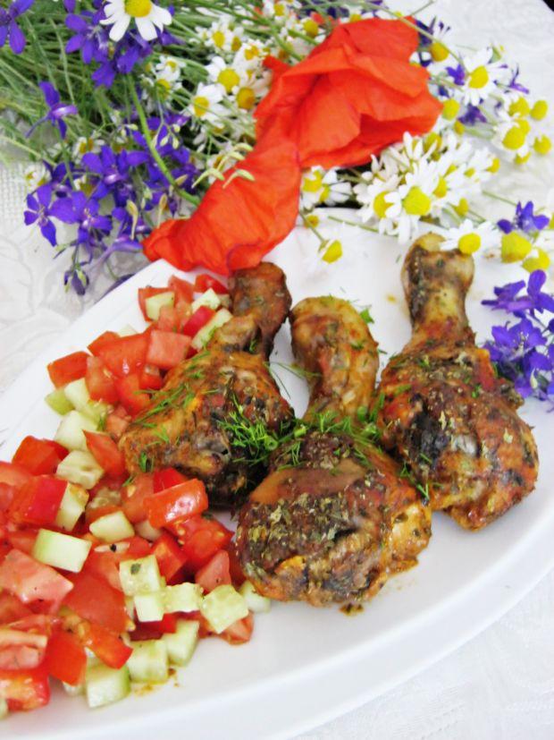 Kurczak pieczony w keczupie