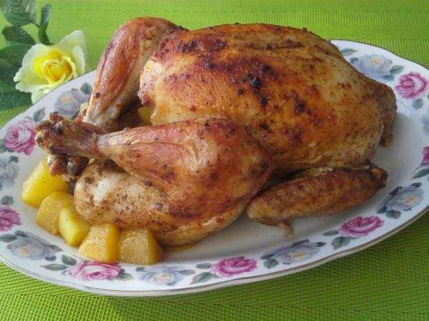 Kurczak pieczony z mango
