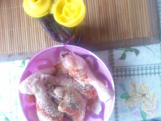 Kurczak pieczony z marchewką (w rękawie)