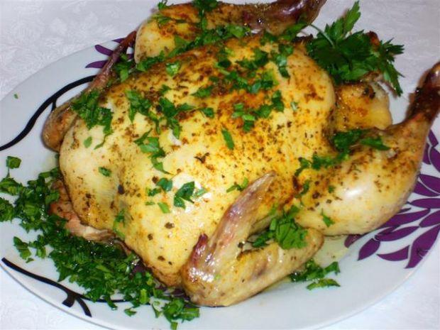 Kurczak pieczony z zalewy
