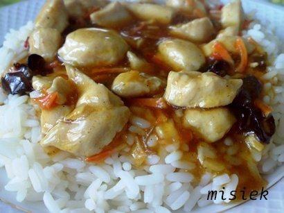 Kurczak po chińsku z fix'a