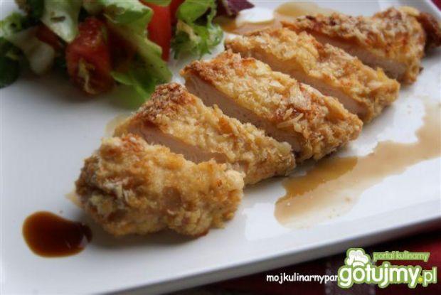Kurczak teriyaki w panierce panko