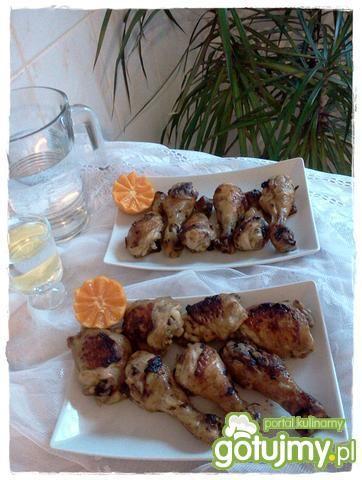 Kurczak w marynacie z coli i musztardy