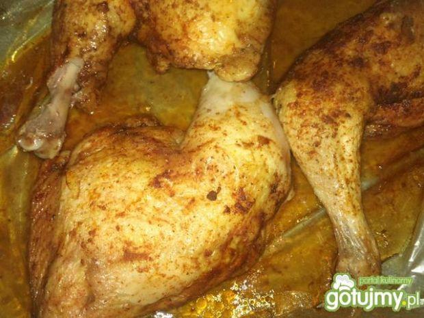 Kurczak  w mieszance przypraw