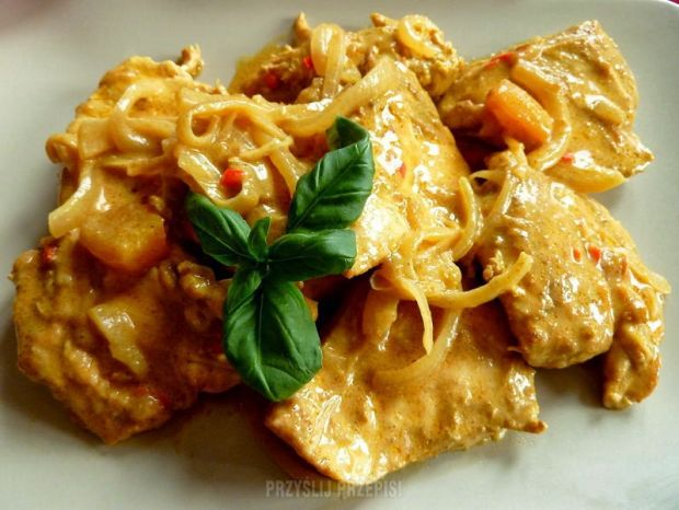 Przepis Kurczak W Mleku Kokosowym Z Mango I Chili Przepis Gotujmy Pl