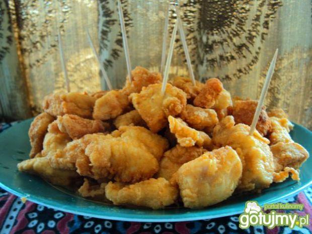 Kurczak w panierce kukurydzianej