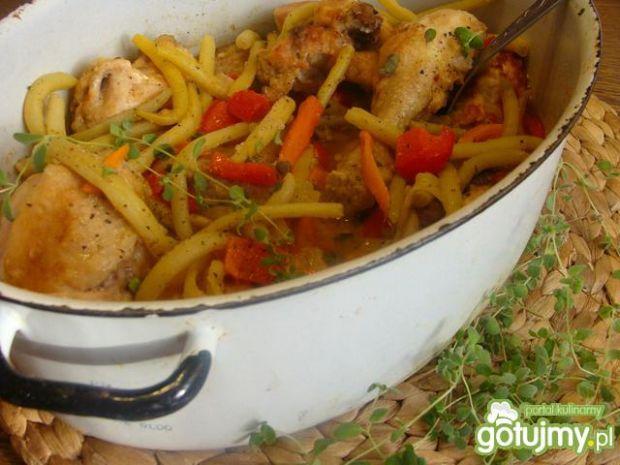 Kurczak w paprykowym sosie