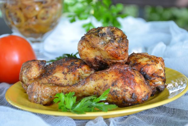 Kurczak w pomidorach z rękawa