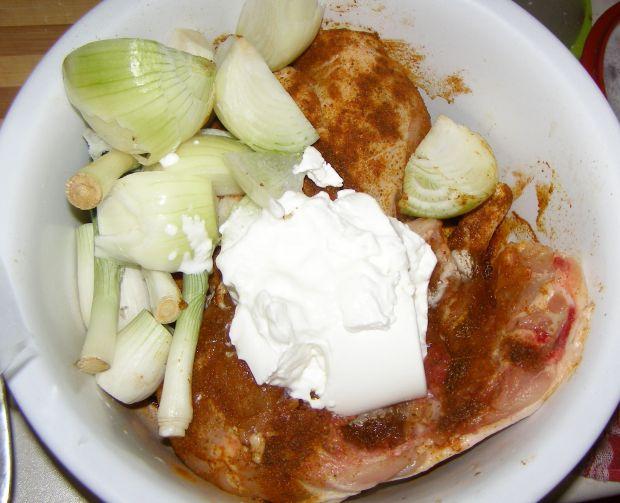 Kurczak w rękawie pieczony w jogurcie