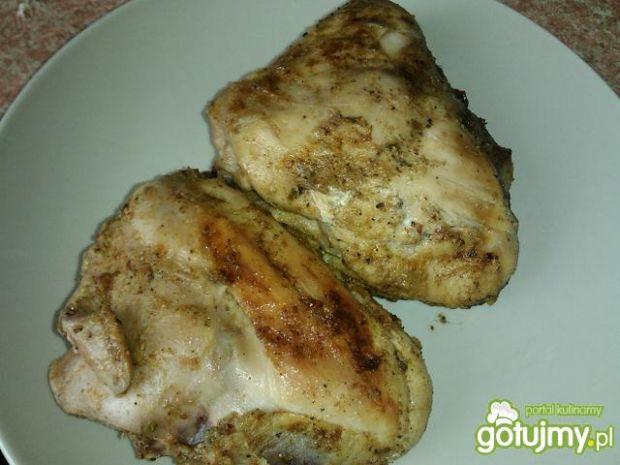 Kurczak w słodko-kwaśnej marynacie