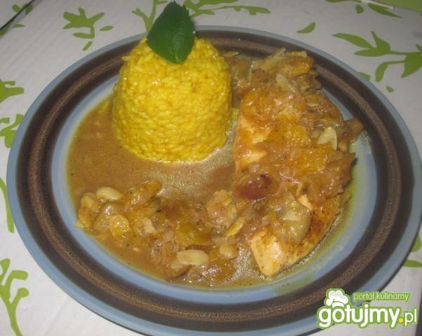 Kurczak w sosie figowym