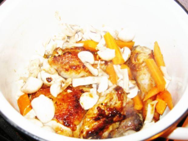Kurczak w sosie meksykańskim