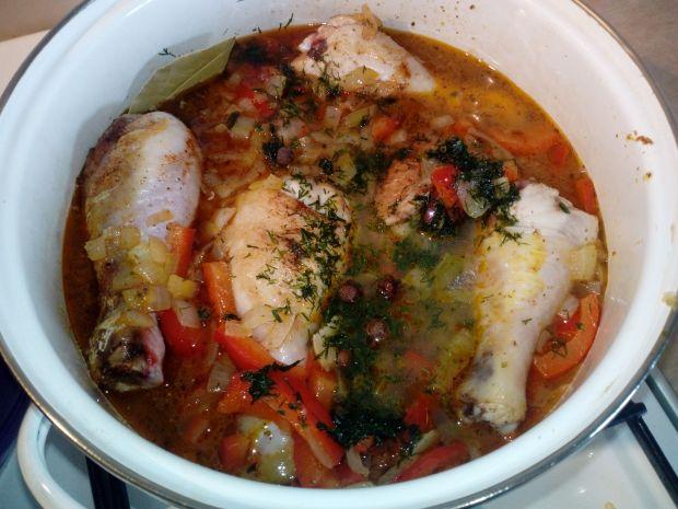 Kurczak w sosie paprykowym