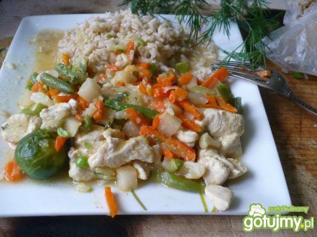 Kurczak w sosie po chińsku