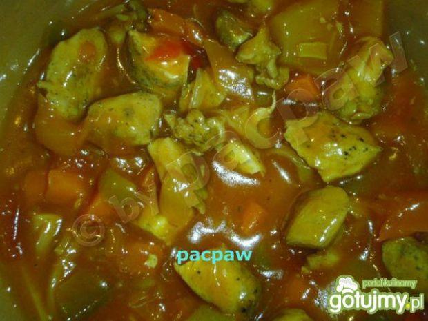 Kurczak w sosie słodkim