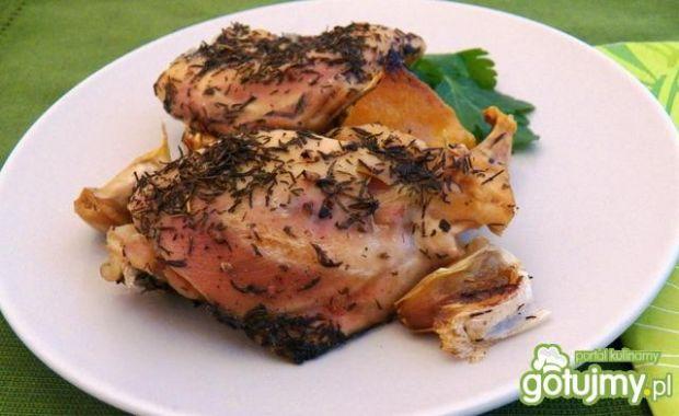 Kurczak z czosnkiem i cytryną