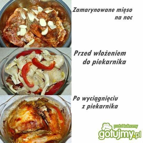 Kurczak z Grzybami