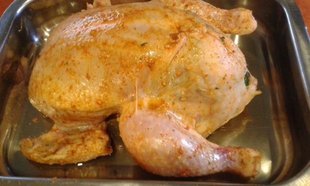 Kurczak z imbirem i cynamonem