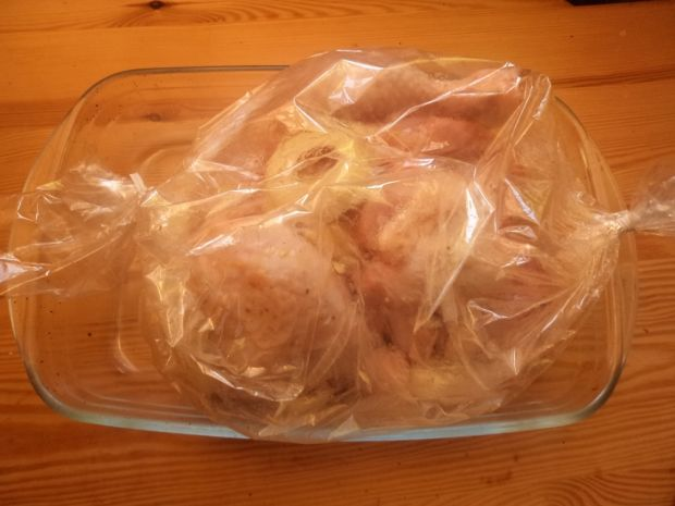 Kurczak z imbirową nutą